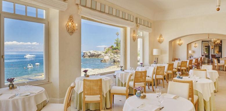 belmond villa sant andrea, oliviero restaurant
