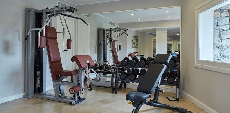 belmond villa sant andrea, gym