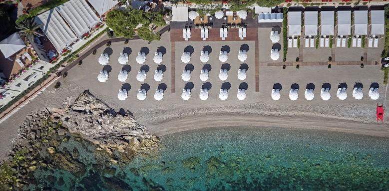 belmond villa sant andrea, aerial view