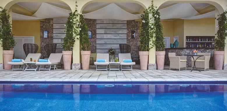 belmond villa sant andrea, pool loungers