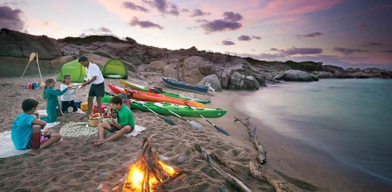 Valle Dell'Erica Resort Thalasso & Spa, canoe on the beach
