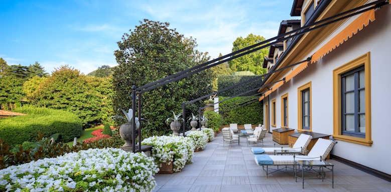 Villa D'este, Beauty centre terrace