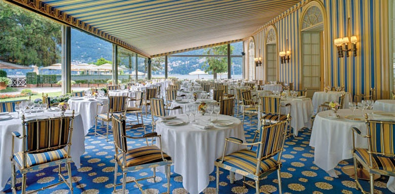 Villa d'Este, le veranda restaurant