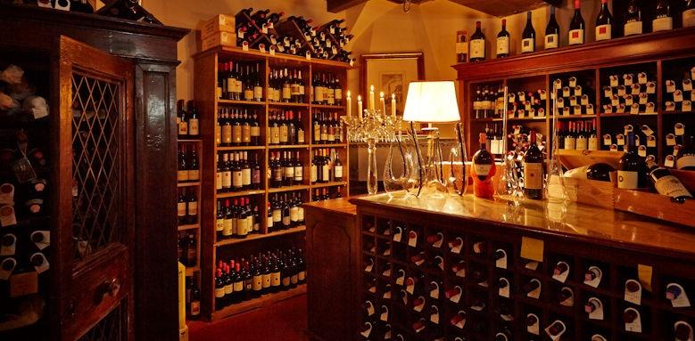 belmond villa san michele, wine cellar