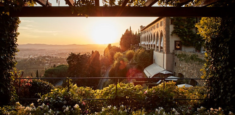 belmond villa san michele, sunset