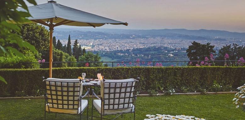 belmond villa san michele, terrace