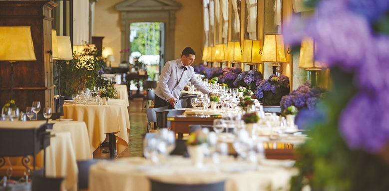 belmond villa san michele, restaurant