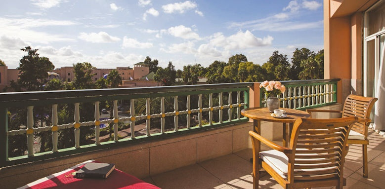 hotel es saadi, terrace
