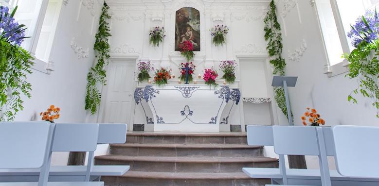 Casa Velha do Palheiro, chapel interior