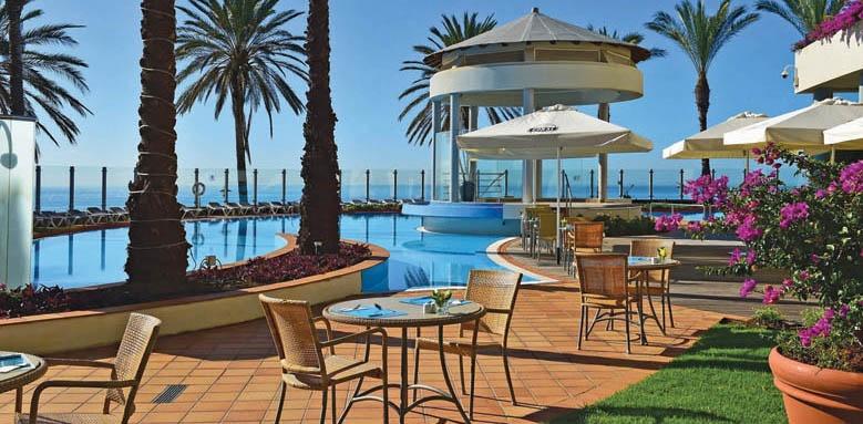 Pestana Grand, poolside dining
