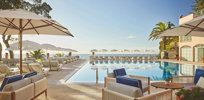 belmond reids palace, pool loungers