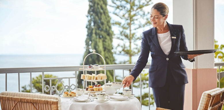 belmond reids palace, afternoon tea