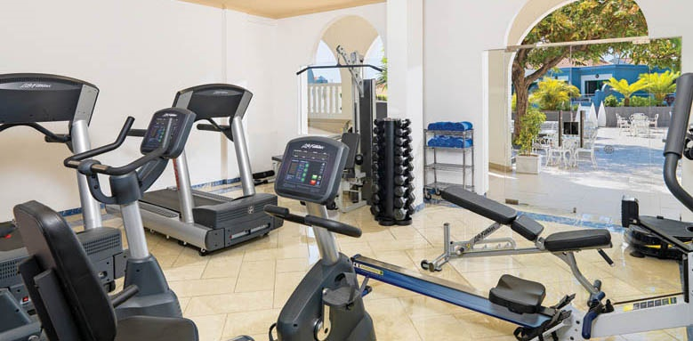 Hotel Colon Guanahani, gym