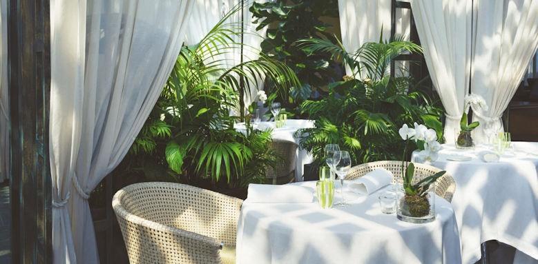 Lefay Resort, la grande limonaia restaurant