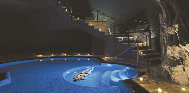 Lefay Resort, salt water