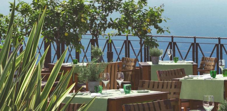 Lefay Resort, trattoria la vigna
