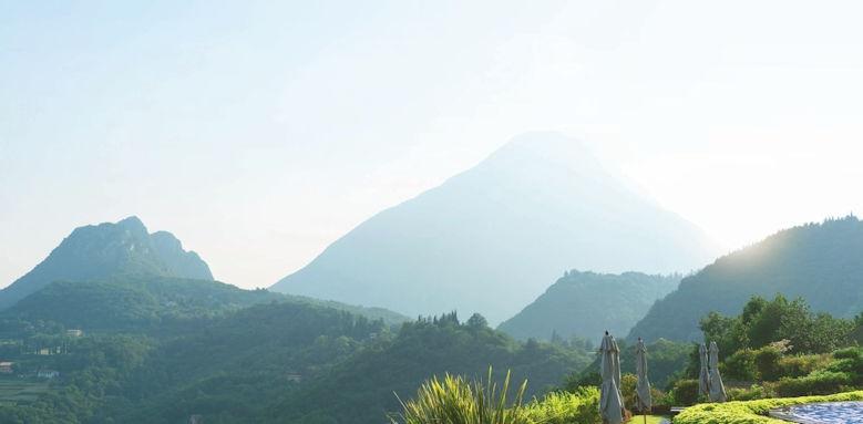 Lefay Resort, moiuntain view