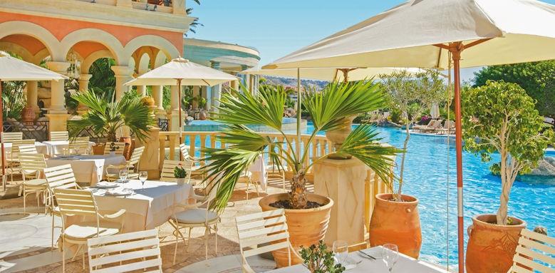 Iberostar Grand Hotel El Mirador, poolside restaurant