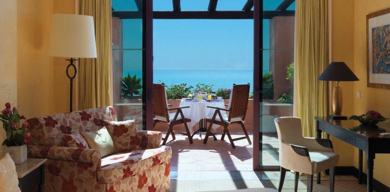 Kempinski Hotel Bahia, deluxe sea view room