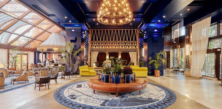 kempinski bahia estepona, hotel lobby