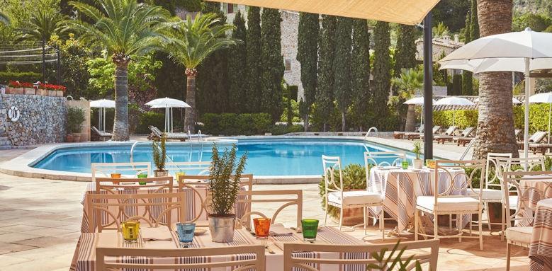belmond la residencia, pool restaurant