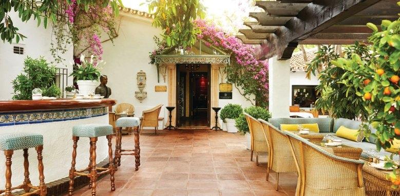 Marbella Club Hotel Golf Resort & Spa, summer terrace