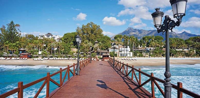 Marbella Club Costa del Sol, pier