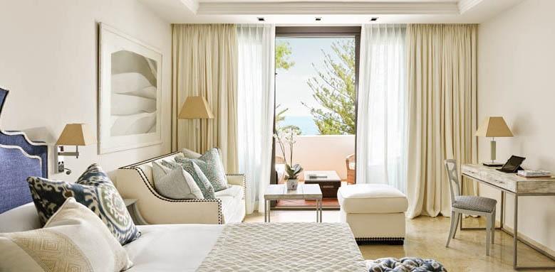 Marbella Club Costa del Sol, deluxe beach front room