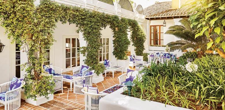 Marbella Club Costa del Sol, patio