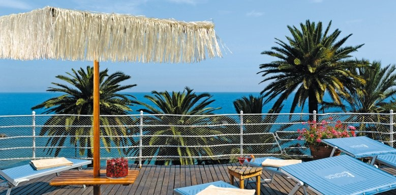 Royal Hotel Sanremo, balcony
