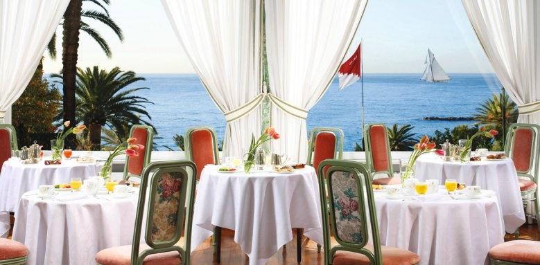Royal Hotel Sanremo, breakfast restaurant