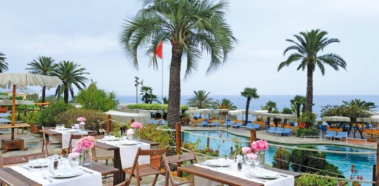 Royal Hotel Sanremo, restaurant