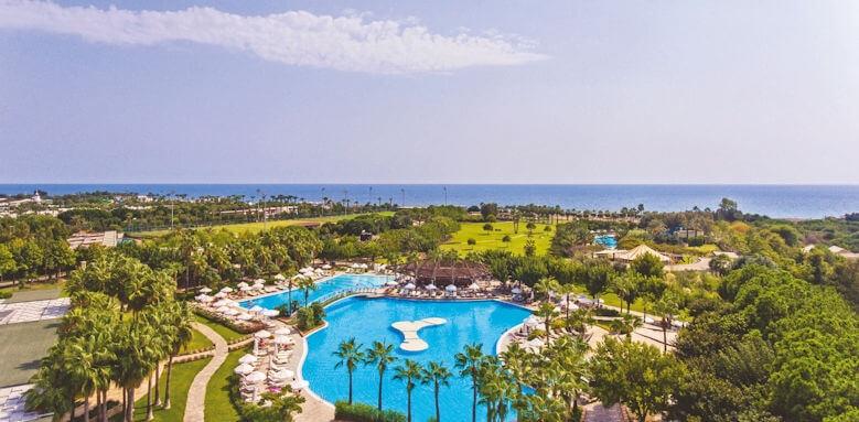 Barut Lara, pool + sea view