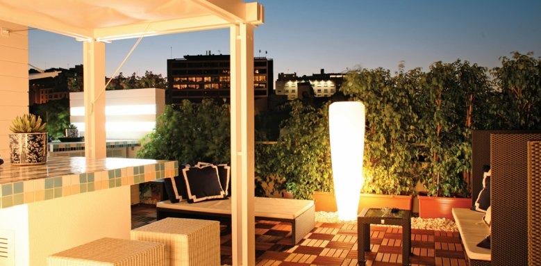 Hotel Lisboa Plaza, terrace