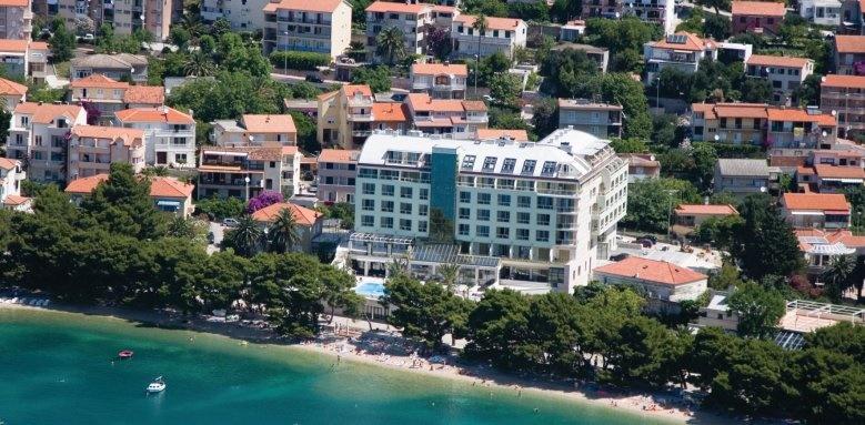 park makarska, hotel aerial view