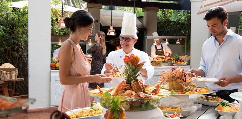 Hotel Pineta, buffet restaurant