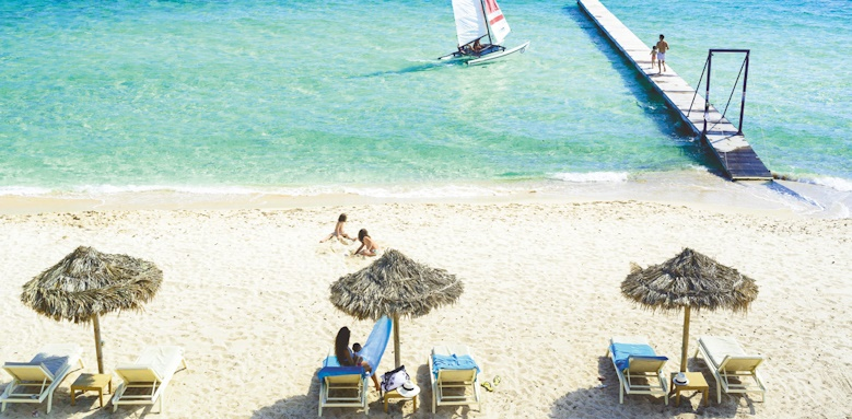 Hotel Pineta, beach