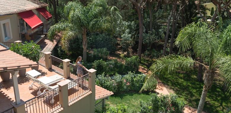 Villa del Parco, terrace
