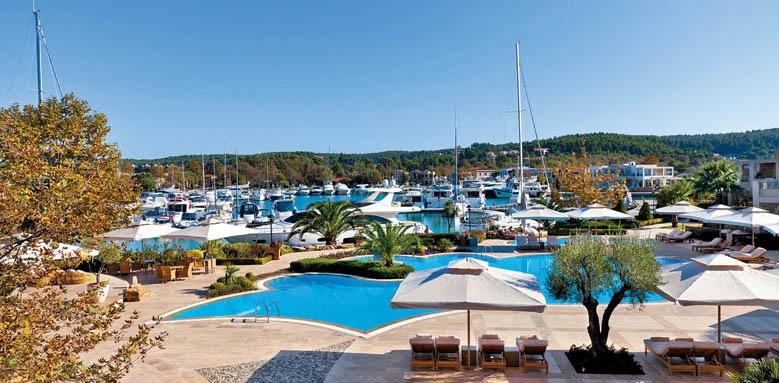 Sani Asterias Suites,  marina view