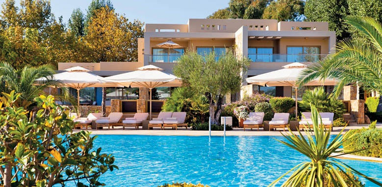 Sani Asterias Suites, pool view