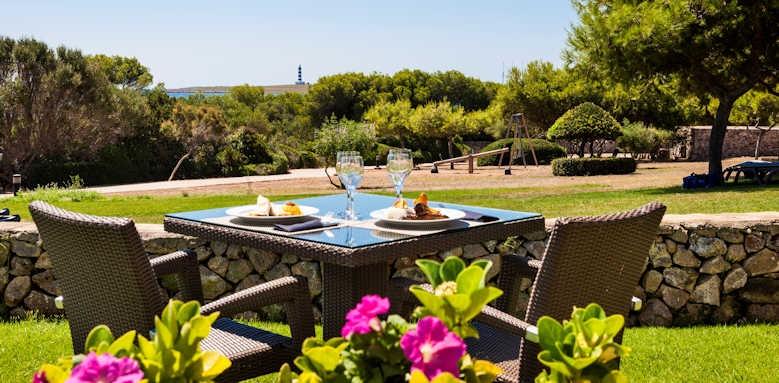 Insotel Punta Prima, restaurant terrace view