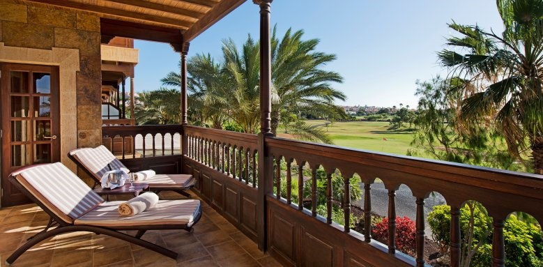 Elba Palace Golf and Vital Hotel, golf view balcony
