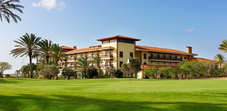 Elba Palace Golf and Vital Hotel, exterior and golf course