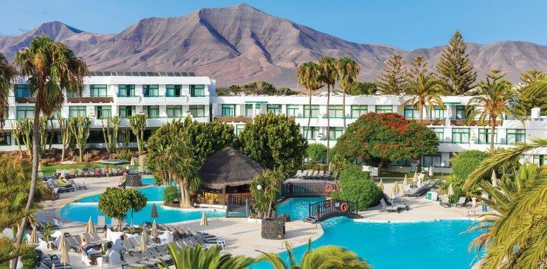 H10 Lanzarote Princess, pool & exterior