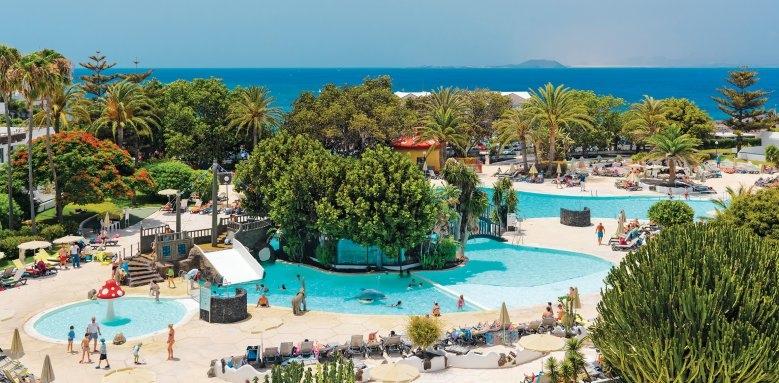 H10 Lanzarote Princess, pool & sea view