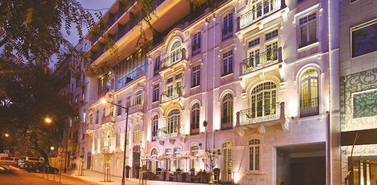 porto bay liberdade, facade