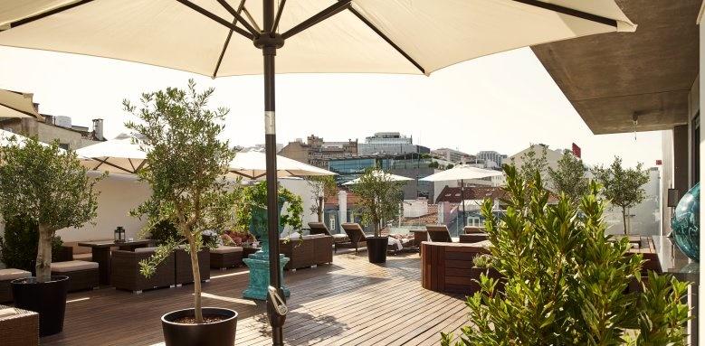 porto bay liberdade, rooftop lounge