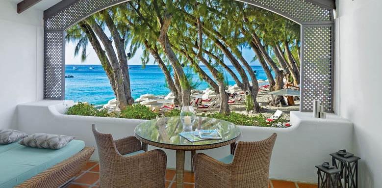 Colony Club, luxury ocean view balcony