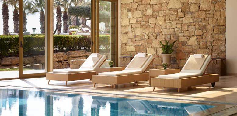 Sani Beach, interior spa pool