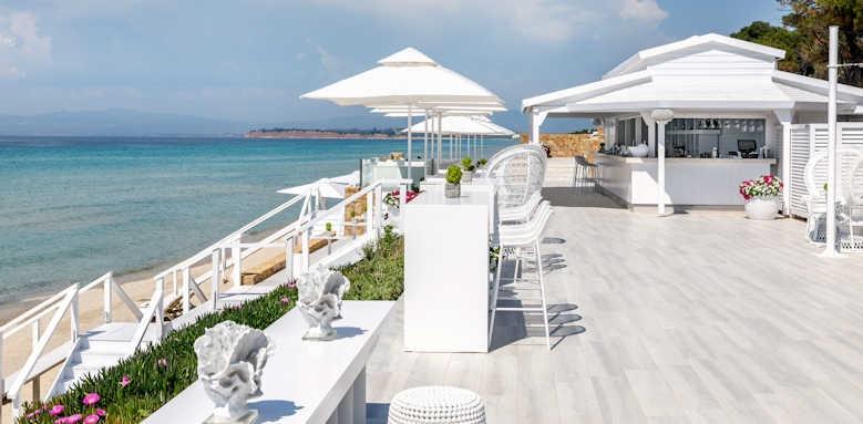 Sani Beach Hotel, bar area